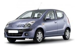 wypożyczenie auta samochodu malaga Nissan Pixo automat